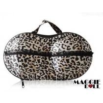 Lingerie Case Travel Bra Organizer BRA - Leopard Print